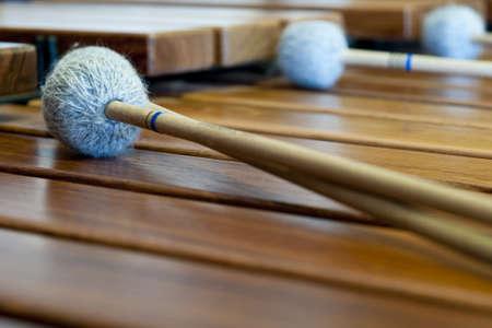 xilofono: xil�fono de madera o de sticcado con palos sobre ella