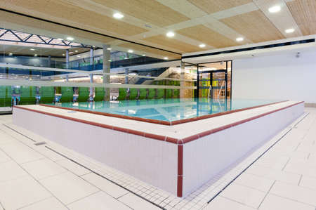 fordable pool for rehabilitation and other medical lessons photo
