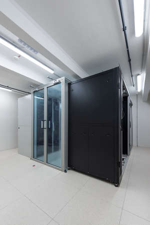 rack units of data processing service center environmental control