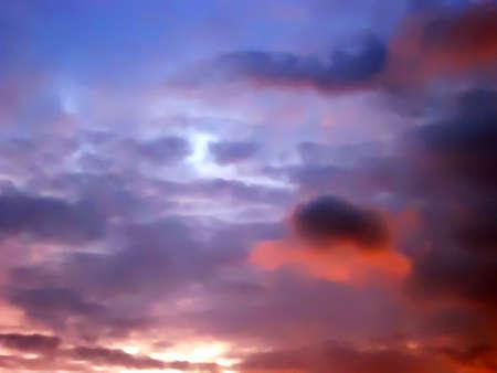 likes: cloud look at likes face Stock Photo