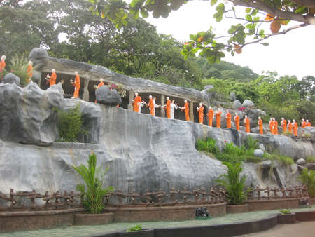 Buddahs Temple in Sri Lanka photo