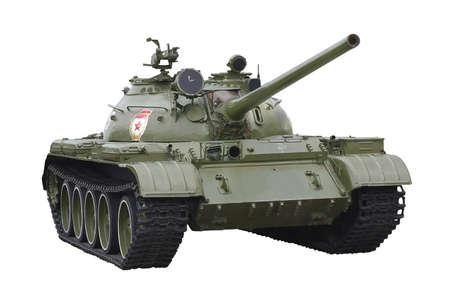 Panzer machte in der Sowjetunion, isoliert auf weißem Standard-Bild - 13508283