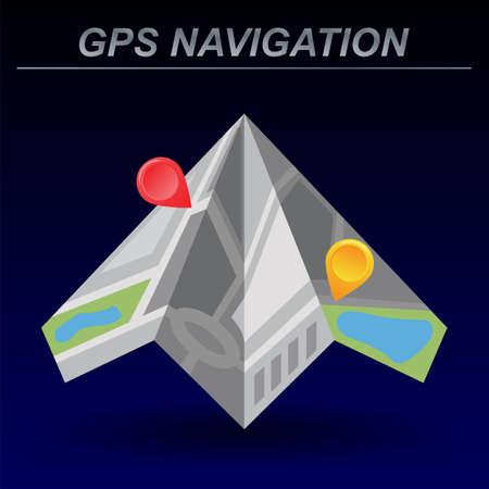 global navigation system: Global Positioning System, navigation.