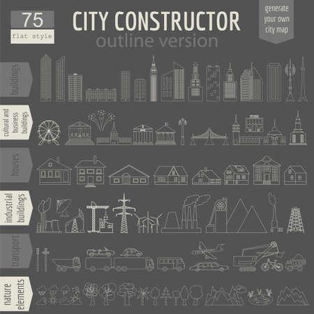 발전기: City map generator.