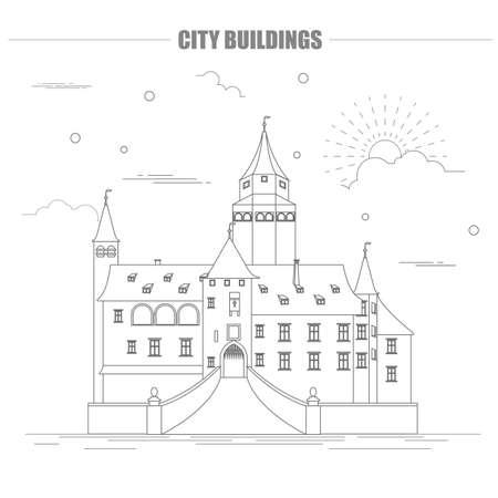 City buildings graphic template bousov castle vector illustration city buildings graphic template bousov castle vector illustration stock vector 54522119 maxwellsz