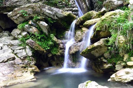 Waterfall Thydo krasotka Sochi, Russia
