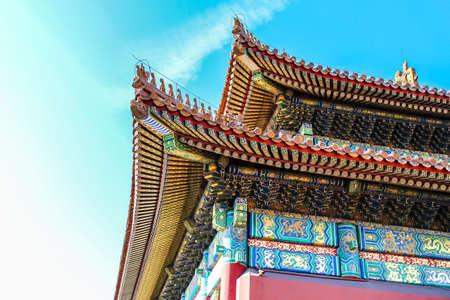 eaves: Forbidden City eaves Editorial