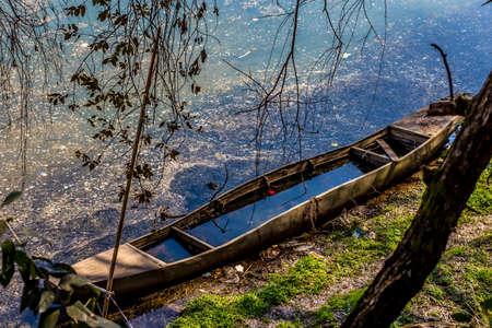 landscape riverside: River Canoe