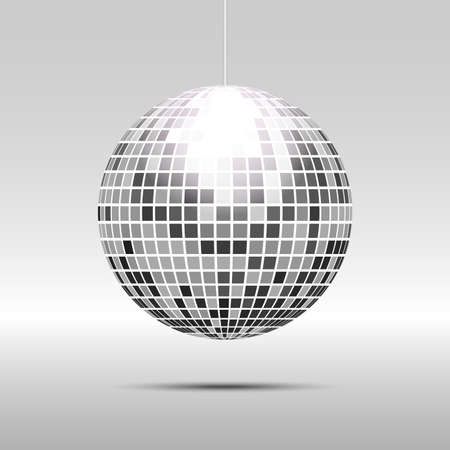 Disco ball icon Illustration