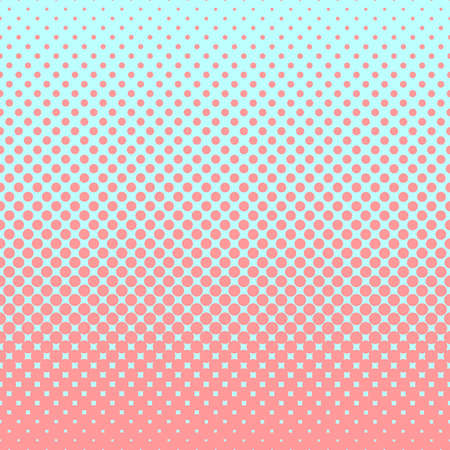 prepress: Halftone abstract background in rose and complement colors