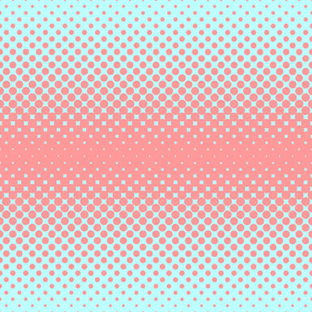 Halftone abstract background in rose and complement colors
