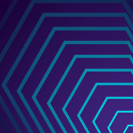 Diagonal colorful geometric abstract background in purple and blue color Ilustração