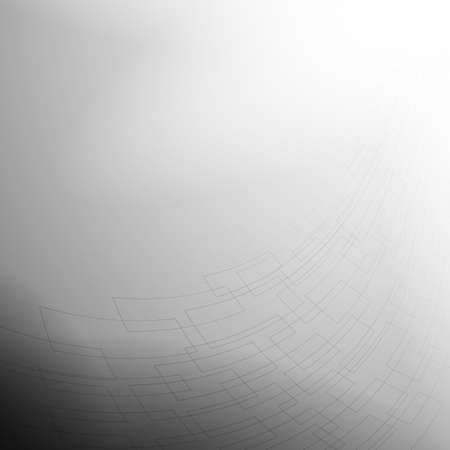 Gray and white abstract mesh background with perspective design
