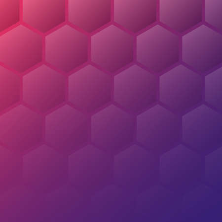 Geometric abstract background with cellural texture in red and purple gradient