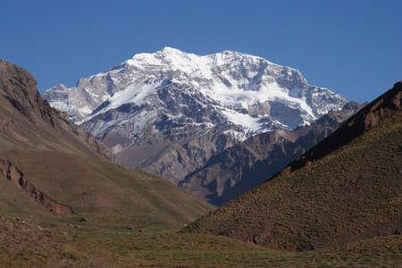 Aconcagua - highest mountain peak outside Himalayas