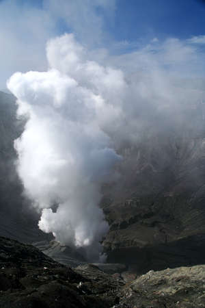 Crater of Gunung Bromo volcano in Jawa Stock Photo - 6159318
