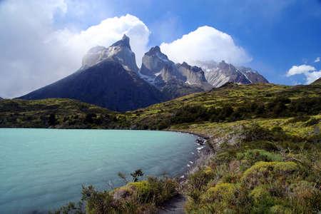 pain�: Lo stordimento Cuernos del Paine in Cile meridionale