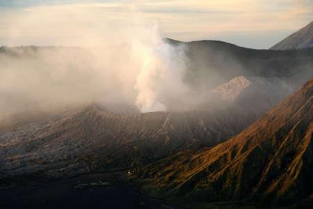 Spectacular Gunung Bromo volcano in Jawa in Indonesia Stock Photo - 6159311