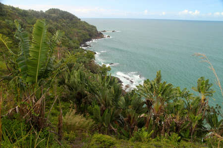 Stunning Madagascar coastline along the Mananara to Maroantsetra coastal road