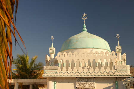 Mosque in the city Majunga in Western Magagascar Stock Photo - 12337581