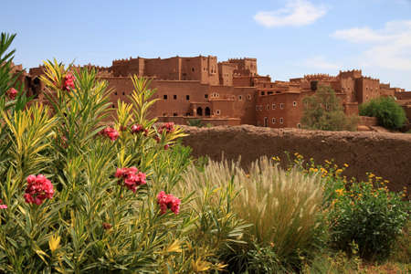 Magnificent kasbah � old traditional arab fortress In the city of Ouarzazate Stock Photo - 12819159