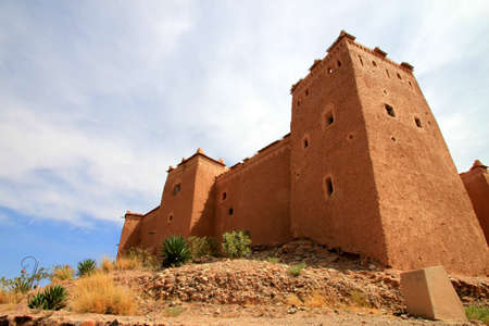 Magnificent kasbah – old traditional arab fortress In the city of Ouarzazate Stock Photo - 12819158