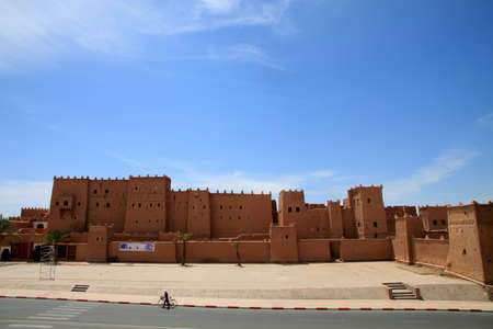Magnificent kasbah – old traditional arab fortress In the city of Ouarzazate Stock Photo - 12819157