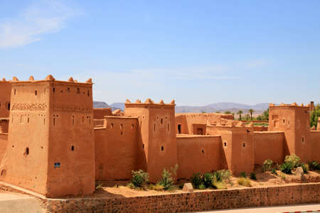 Magnificent kasbah � old traditional arab fortress In the city of Ouarzazate