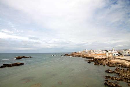 Beautiful old port City of Essaouira, morocco,  photo