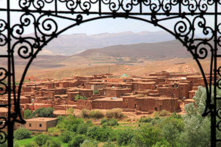 Small village Telouet in Atlas mountains, Morocco