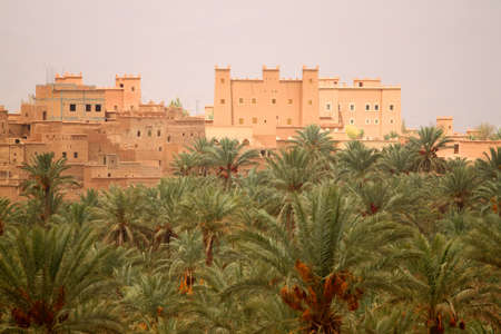 One of many Kasbah in Draa Valley, Morocco