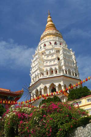 Kek Lok Si tempel in Penang eiland, Maleisië