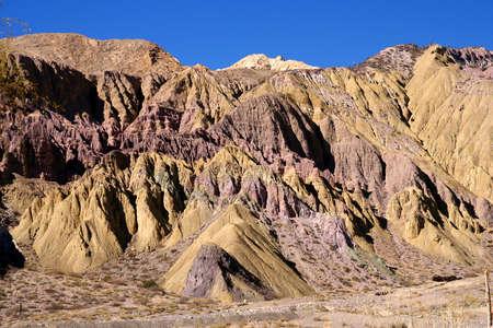 Colourful mountains in Northern Argentina Quebrada de Humahuaca Stock Photo - 15565617