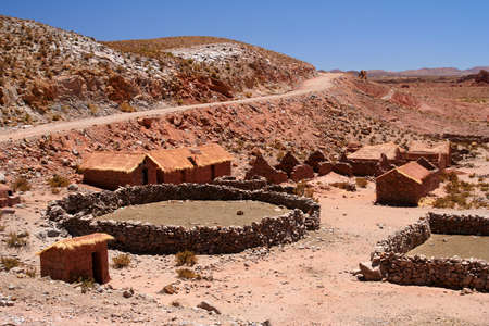 remnants: Remnants of the old and abandoned village in the Argentinian north