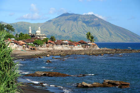ende: Small town Ende on the Indonesian island Flores Asia, Asian, Flores, Indonesia, Indonesian, Ende