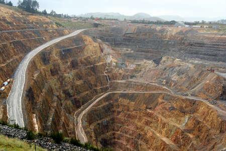 martha: Martha mine, opencast gold mine, Waihi, New Zealand