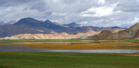 Beautiful landscape of Western Tibet photo
