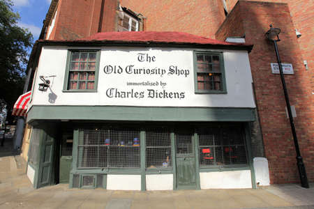 The Old Curiosity Shop immortalized by Charles Dickens, London