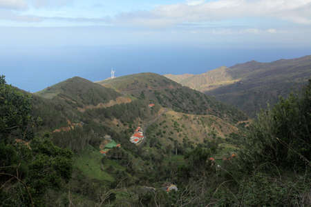 Landscape of La Gomera, Canary Islands, Spain photo