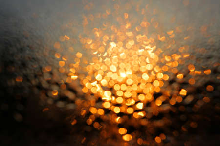 diffused: Diffused morning lights through wet window