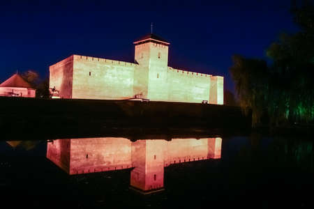 Castle in Gyula - a city in B?k?s county in south-eastern Hungary. It lies close to the border with Romania, on the river Feh?r-K?r?s
