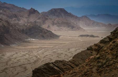 impressive: Impressive Chak Chak mountains in Ardakan in Iran Stock Photo