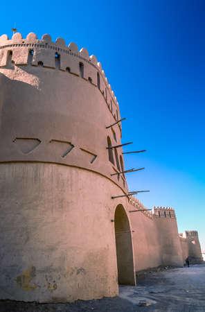 bam: Ancient castle in Rayen near Bam Iran Stock Photo