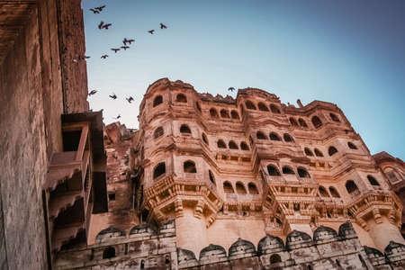 impressive: Impressive Fort in city of Jodhpur, India