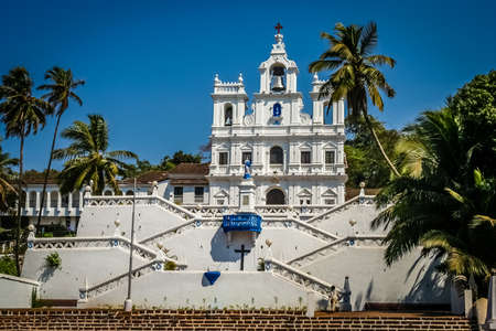 spirtual: Beautiful Church of Our Lady of the Immaculate Conception Panaji Goa India