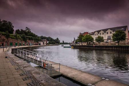 View of the Exeter Quay, Devon, England, UK
