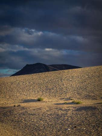 corralejo: Dunes National Park in Corralejo, Fuerteventura, Canary Islands, Spain Stock Photo
