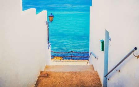 blanca: Playa Blanca backstreet impression, Canary Island, Spain