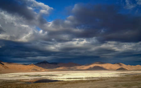 impervious: Beautiful landscape in the remote area of Western Tibet, as seen from the road to Ali