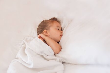 the concept of healthy lifestyle, IVF - baby sleeps